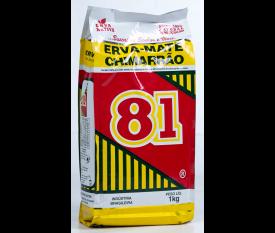 Erva Mate 81 1kg - Embalagem plástica